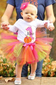 Lil Pumpkin Birthday Tutu Outfit - Fall Birthday Tutu - INCLUDES SHIRT and TUTU - Custom Made - Sizes 12mos - 2T on Etsy, $50.00