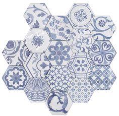 Academy Tiles - Ceramic Tiles - Hexadecor 150 x 175mm - 84070