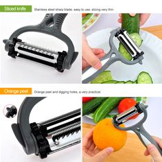 Multifunctional Fruit Vegetable Rotary Peeler – Get it Free (Just Pay Shipping!!)