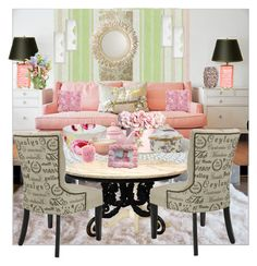 shabby side of home by aimbilal on Polyvore featuring interior, interiors, interior design, home, home decor, interior decorating, DIVA, Gibson, Grasslands Road and Royal Albert