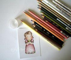 Nixe07 - Moni´s creative place: Colorieren mit Prismacolor Stiften ... Coloring with Prismacolor Pencils
