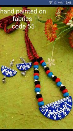 Fancy Jewellery, Thread Jewellery, Textile Jewelry, Fabric Jewelry, Jewellery Making, Handmade Jewellery, Terracotta Jewellery, Quilling Jewelry, Stud Earrings