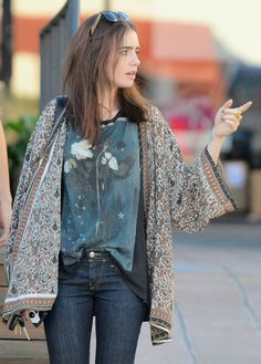 The Fashion Of Lily Collins