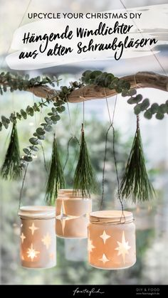 All Things Christmas, Christmas Crafts, Christmas Ornaments, Diy Upcycling, Upcycle, Diy Food, Planter Pots, Holiday Decor, Handmade