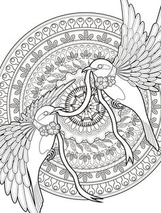 nightingale animal coloring pages. 24 More Free Printable Adult Coloring Pages  Page of 25 free abstract patterns coloring pages hard