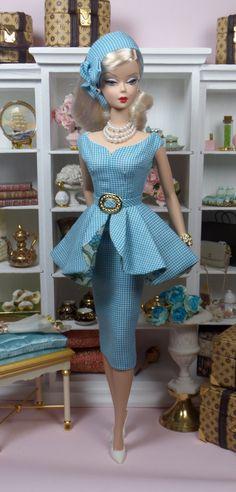 Morning Glory for Silkstone Barbie.
