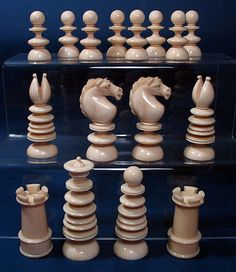 Fine #antique english #calvert  #chess set,  View more on the LINK: 	http://www.zeppy.io/product/gb/2/122023083548/