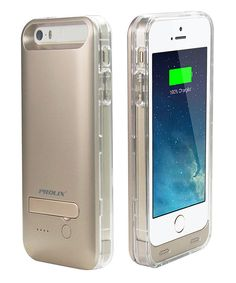 Look at this Clear Protective Battery Case for iPhone 5/5s on #zulily today!