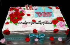 """Dapoer Queen: Rose cake """"Shower with Roses"""""""