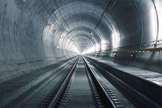 SBB: The new Gotthard Tunnel.
