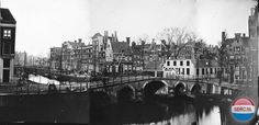1940's. A view of the Herengracht in Amsterdam. Photo Serc. #amsterdam #1940 #Herengracht