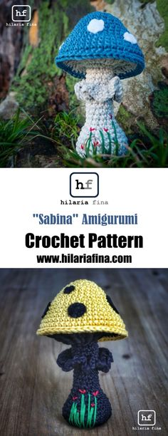 """Sabina"" Amigueumi - Crochet Pattern (Spanish & English) #amigurumi #crochet"