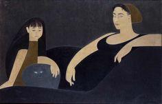 lilithsplace:  'Grey Horizontal', 1961 - Will Barnet (1911–2012)