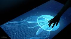 Amazing new touchscreen from Disney: lets you feel textures through sending electronic pulses to your fingers, thus tricking your brain into thinking it is textured.