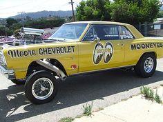 1964 chevelle malibu ss gasser vintage drag car mooneyes