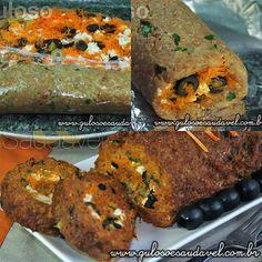 #BomDia! Dica delicia para o #almoço, é o Rocambole de Carne Light, (feito com aveia) é super fácil! Bora fazer?   #Receita aqui: http://www.gulosoesaudavel.com.br/2012/10/30/rocambole-de-carne-light/