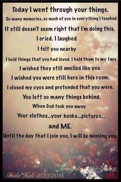 These words touched my deepest sentiments, I will miss you till I am with you again. Love you Mummy, see you in Heaven ! Miss Mom, Miss You Dad, Grief Poems, Grief Quotes Mother, Mother Poems, Missing My Husband, Mom In Heaven, Funeral Poems, Grieving Quotes