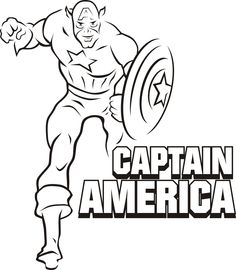 Illustration Of Captain America By Chris Guest Illgottenbrain If