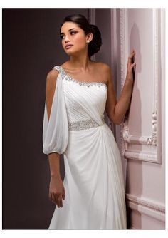 Column Wedding Dress I would wear this dress to a different occasion