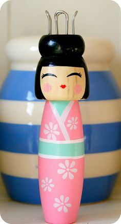 Japanese lady style tricotin / knitting spool