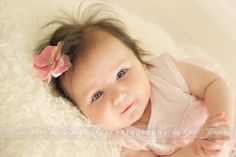 3 month old portraits | Heidi Hope Photography