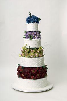 Ron Ben Israel Wedding Cakes Blue Hydrangea