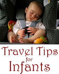 Tips for traveling with babies and taking them out in public