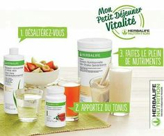 Nutrition Club, Nutrition Shakes, Sports Nutrition, Herbalife France, Nutrition Herbalife, Shake Recipes, Health Fitness, Fruit, Healthy