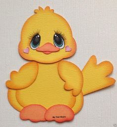 Premade Paper Piecing Animal Spring Yellow Bird by My Tear Bears Kira | eBay
