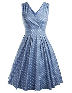 Women's 1950s Vintage Style Polka Dot Rockabilly Swing https://www.amazon.com/gp/product/B01HJ98G46/ref=as_li_qf_sp_asin_il_tl?ie=UTF8&tag=rockaclothsto-20&camp=1789&creative=9325&linkCode=as2&creativeASIN=B01HJ98G46&linkId=76dffb4fa8361b2dab6f358f2a0d2037
