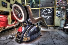 Creative Seat for Vespa lovers