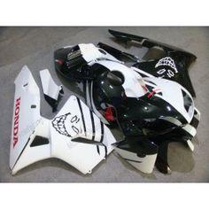 Honda CBR 600RR F5 2005-2006 Injection ABS Fairing - Skull - Black/White | $639.00