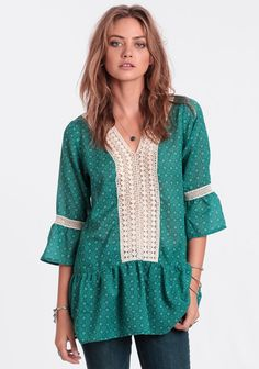 In Good Spirits Crochet Tunic