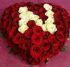 Rose Flower Wallpaper, Love Wallpaper, Luxury Flowers, Exotic Flowers, Flower Boxes, My Flower, Pics For Dp, Alphabet Wallpaper, Flower Letters