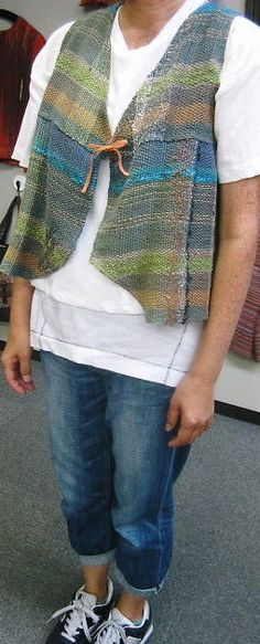 Cute vest from Saori Yokohama
