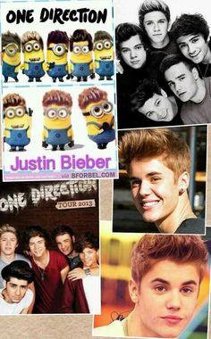 JB and 1D One Direction, Justin Bieber, Singers, One Direction Preferences, Singer
