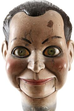 Something creepier than clowns......Billy the ventriloquist doll head...