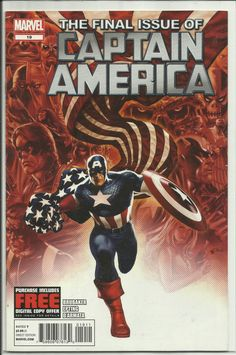 "Captain America Vol. 6 #19 - ""Final Issue"" before being relaunched as part of the Marvel NOW Initiative."