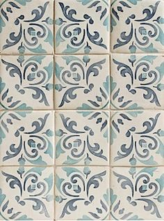 Duquesa Catarina Pattern in Acqua