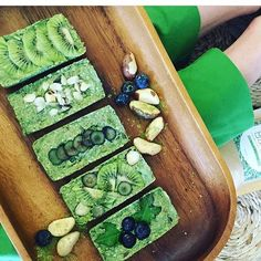 Grain-free dairy-free matcha bars! Nuts seeds fruits veg coconut  cacao. Breakfast of champions right there. Have you made your own version of a matcha granola bar? : @naturally_mrsdarcy #matcha #morning