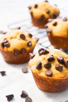 Cake Mix Peanut Butter Banana Muffins.