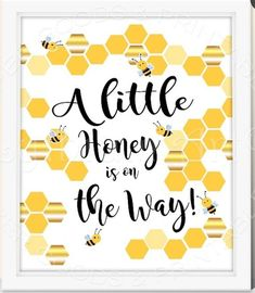 Bee Party Ideas Bee Party Ideas Love this sign to decorate a bee party! – See More Bee Party Ideas at B. Baby Shower Parties, Baby Shower Themes, Baby Shower Decorations, Baby Showers, Shower Ideas, Shower Party, Bee Gender Reveal, Baby Shower Gender Reveal, Bee Cake Pops