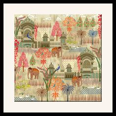 Mughal Treasures Framed Wall Art