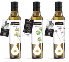 Salad Oils by Raúl Rodriguez, via Behance