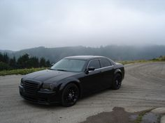 "Chrysler 300C- soon as I find the perfect rims my baby will be "" black out"""