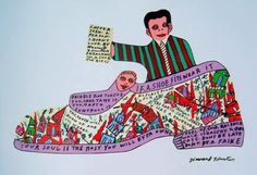 Howard Finster(viaThe 13 Most Amazing Outsider Artists of All Time)