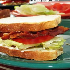 "BLT | ""The basic classic: bacon, lettuce, and tomato -- nothing fancy, just delicious. (I personally use fake vegetarian bacon these days, and it's still really good!)"""