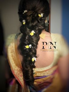 "Pratibha Nalla Studio ""Portfolio"" album - Bridal Hairstyle for Long Hair Bridal Wedding Hairstyle, Mehendi Hairstyle. Cool Haircuts For Girls, Hairstyle Wedding, Mehendi, Bun Hairstyles, Hair Cuts, Dreadlocks, Album, Long Hair Styles, Studio"