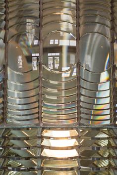 Lighthouse Lens Up-close Pigeon Point  |  Pescadero California |  nadeenflynn.com