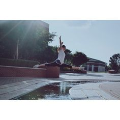 """Leaping for joy today because grades are in and they were on point"" // #SicEm"